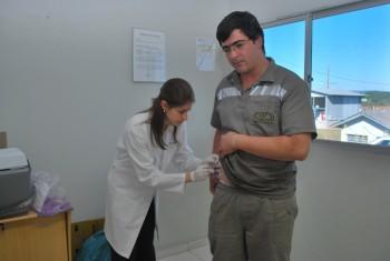 Rio Deserto imuniza seus colaboradores contra a Gripe H1N1