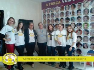 Leite solidário contempla Casa GUIDO no mês de maio