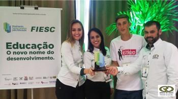 Unidade das Empresas Rio Desertoé reconhecida com Melhores Práticas de Estágio de SC e finalista em nível nacional