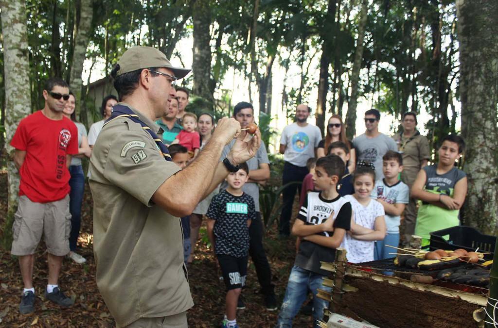 Meio ambiente: atividades escoteiras unem colaboradores e familiares de colaboradores da Rio Deserto
