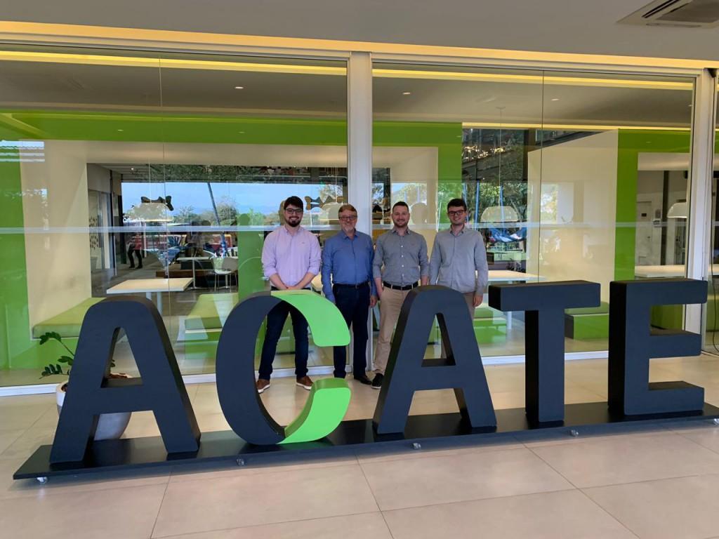 Profissionais da Rio Deserto visitam Associação Catarinense de Tecnologia