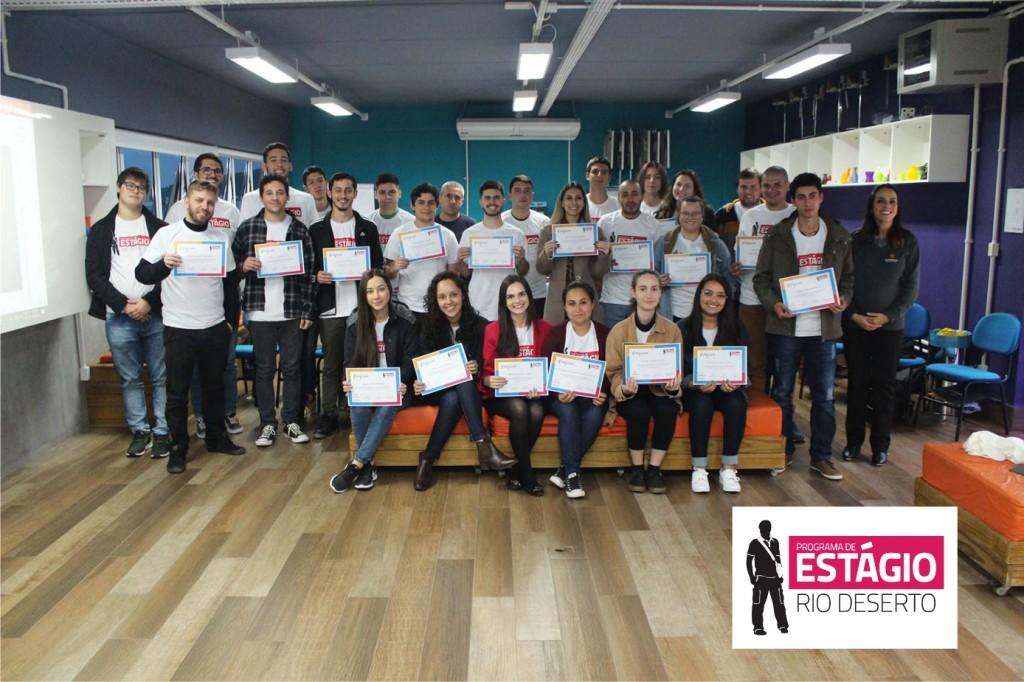 7º Encontro de Estagiários da Rio Deserto destaca as competências e habilidades do profissional do futuro