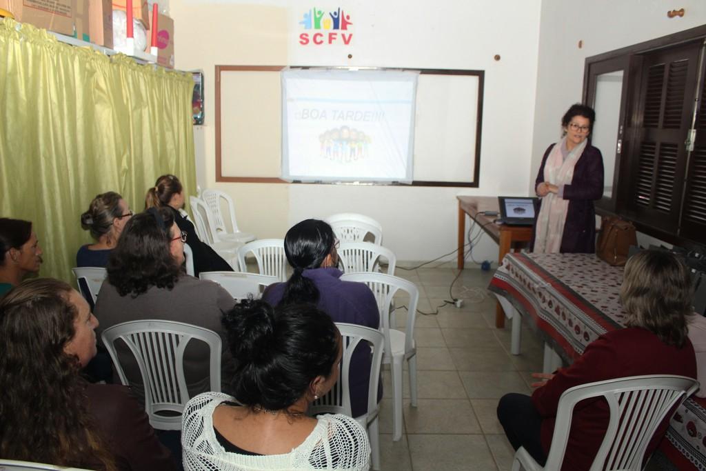 Por meio de projeto social, Rio Deserto dá dicas de finanças domésticas para mulheres atendidas pelo CRAS de Treviso