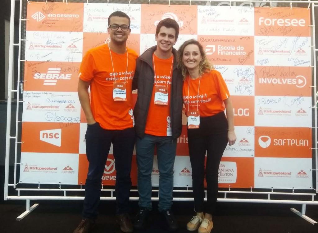 Colaboradores da Rio Deserto participam do evento Startup Weekend Criciúma 2019