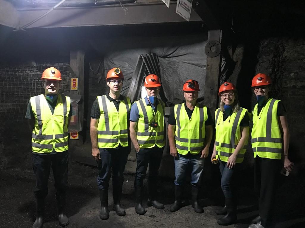 Coordenadores do Ensino Técnico da SATC visitam Unidade de Extração Mina 101, da Rio Deserto