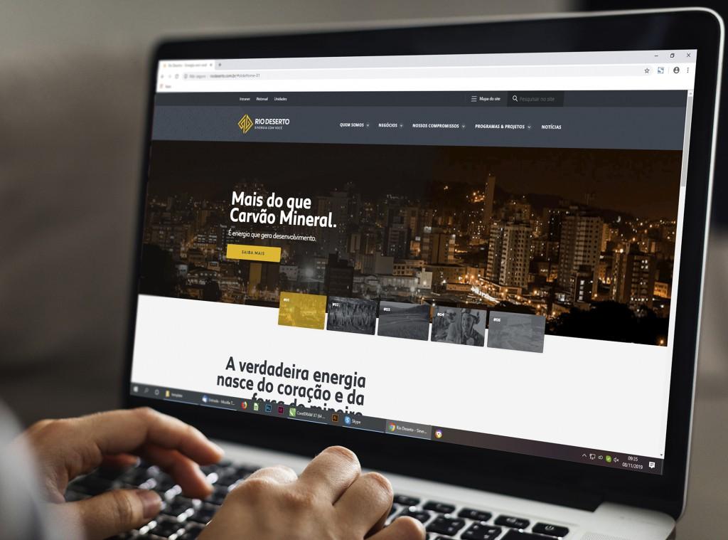 Rio Deserto lança novo site