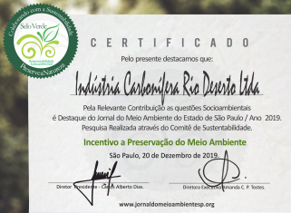 Conquista de Selo Verde ressalta atenção da Rio Deserto com a sustentabilidade