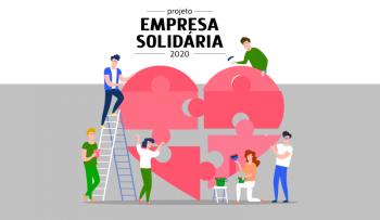 Rio Deserto recebe agradecimento por fazer parte do Projeto Empresa Solidária, do Hemosc