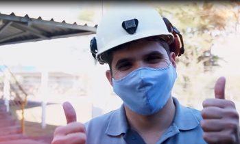 Prevenção à Covid-19: Rio Deserto entrega segunda remessa de máscaras para colaboradores