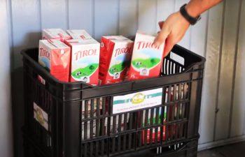 Projeto Leite Solidário: de maio a agosto, 2.339 litros de leite doados