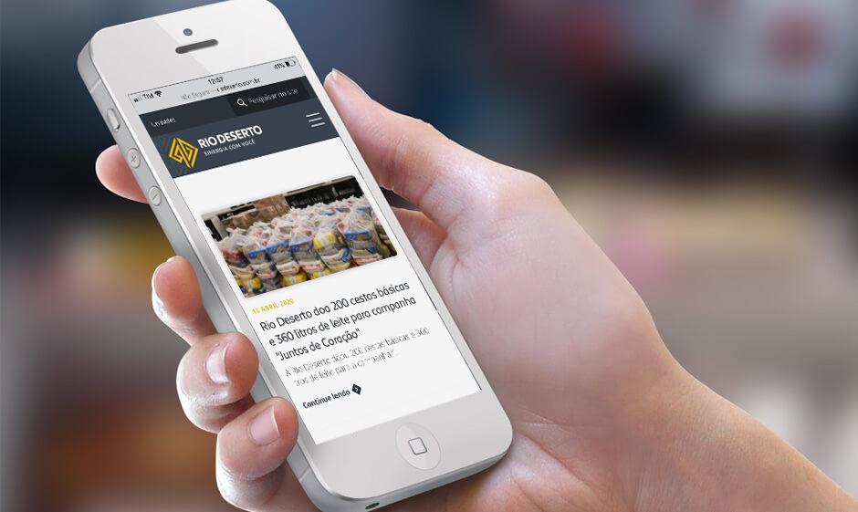 Comunicação: Rio Deserto lança ferramenta para divulgar notícias de forma rápida