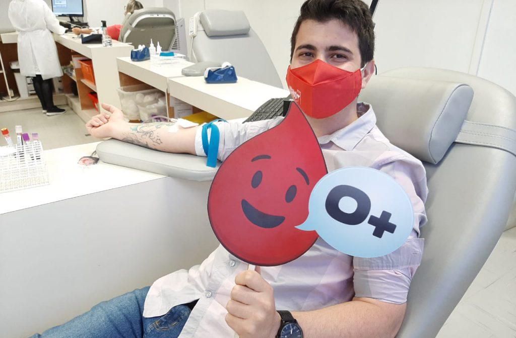 Programa Amigo Sangue Bom, da Rio Deserto, chega a 230 doações de sangue