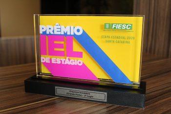 Troféu do Prêmio IEL de Estágio 2020, entregue à Rio Deserto, reforça importância da transformação digital