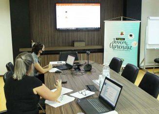 Encontro virtual reúne novos integrantes do Programa Jovem Aprendiz, da Rio Deserto