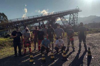 Curso de NR35 capacita 72 colaboradores da Unidade de Extração Mina Cruz de Malta, da Rio Deserto