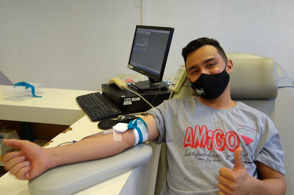 Campanha incentiva colaboradores da Rio Deserto à doação de sangue