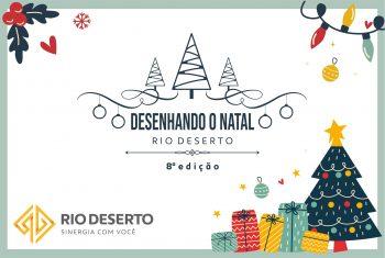 """Abertas as inscrições do concurso """"Desenhando o Natal Rio Deserto"""""""