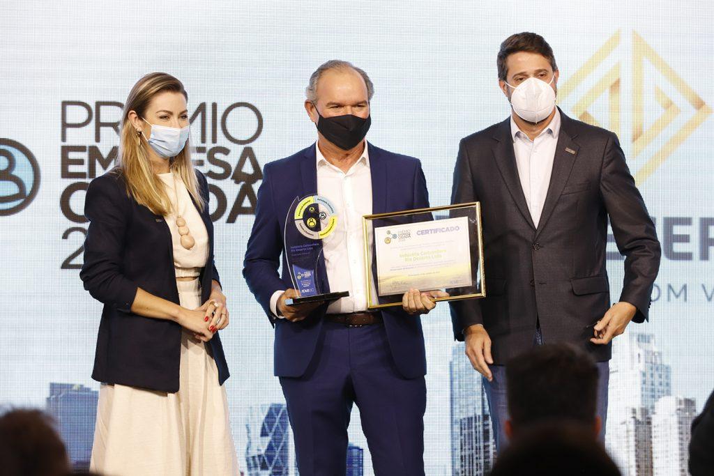 Rio Deserto recebe Prêmio Empresa Cidadã, durante evento em Florianópolis